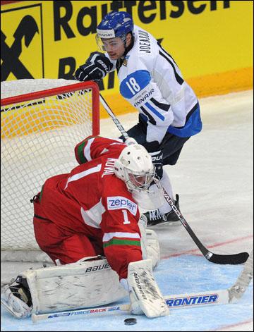 Виталий Коваль против сборной Финляндии