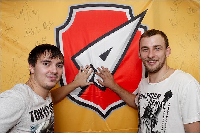 Артем Чернов (справа) и Никита Давыдов