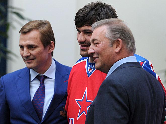 Сергей Фёдоров, Евгений Артюхин и Владислав Третьяк