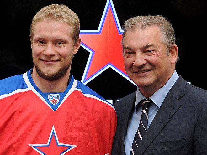 Сергей Андронов и Владислав Третьяк