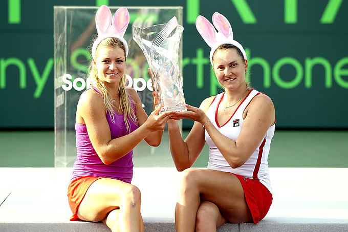 Мария Кириленко и Надежда Петрова