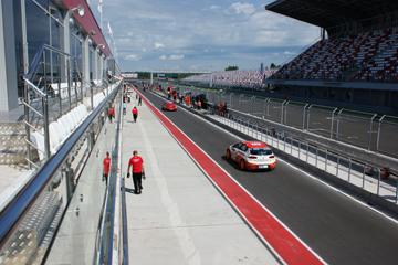 Пит-лейн Moscow Raceway