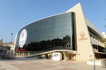 Арена имени Кемаля Ататюрка в Измире, где россияне проведут матчи группового раунда