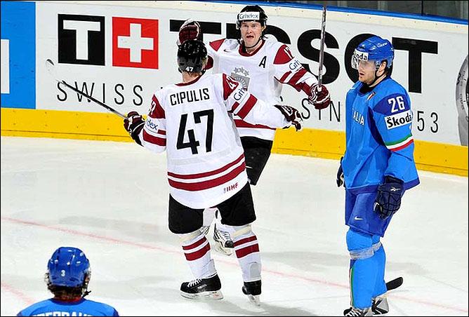 12.05.2010. ЧМ-2010. Италия - Латвия - 2:5. Фото 07.