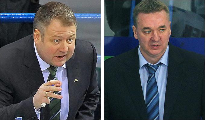 Владимир Юрзинов и Валерий Белов