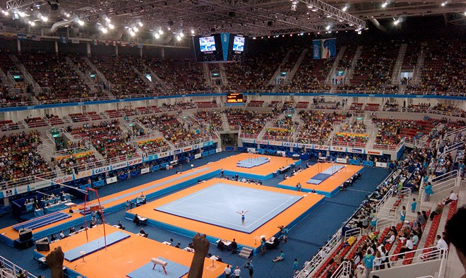 Олимпийская арена Рио в Рио-де-Жанейро