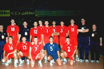 Сборная России в 2003 году заняла лишь пятое место