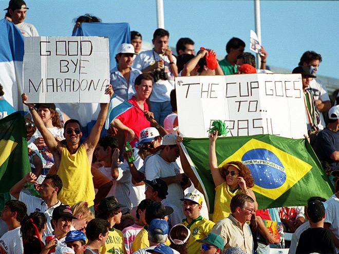 На ЧМ-1994 Диего Марадона был дисквалифицирован