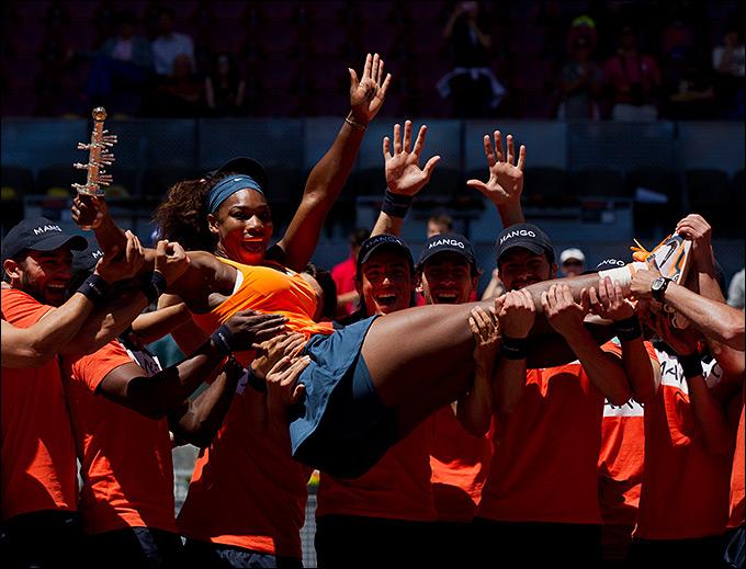 Серена Уильямс защитила титул в Мадриде