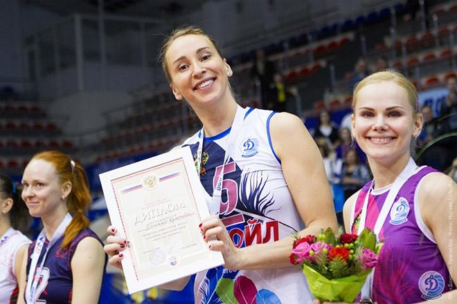 Любовь Соколова после победы в Кубке России 2014 года