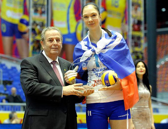 Екатерина Гамова — MVP Лиги чемпионов