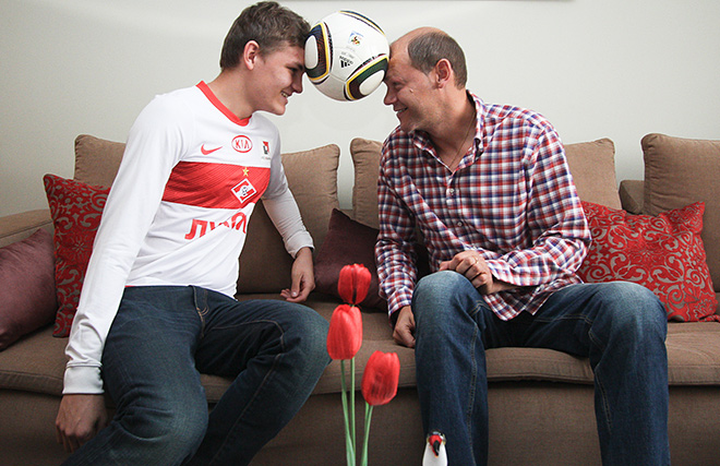 Мирослав и Никита Ромащенко