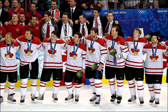 Сборная Канады — действующие Олимпийские чемпионы
