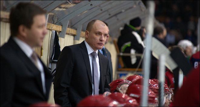 Андрей Разин на тренерском мостике «Ижстали»