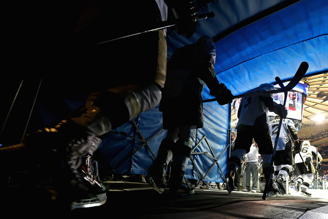 "7 мая 2014 года. Нью-Йорк. Кубок Стэнли. 1/4 финала. Матч № 4. ""Рейнджерс"" — ""Питтсбург"" — 2:4"