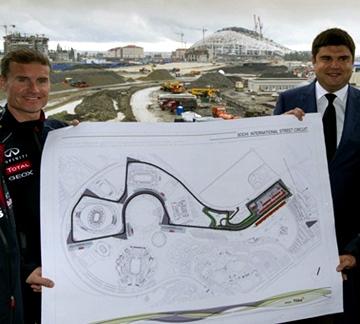 Схема трассы Формулы-1 в Сочи