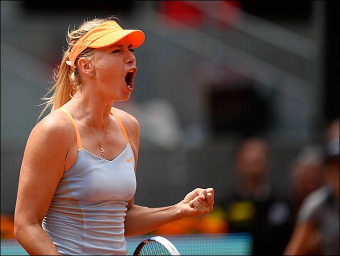 Мария Шарапова одержала 500-ю победу в карьере
