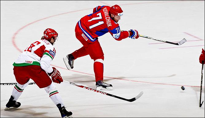 13.05.2010. ЧМ-2010. Россия - Белоруссия - 3:1. Фото 01.