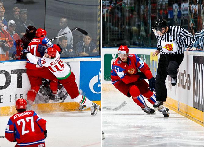 13.05.2010. ЧМ-2010. Россия - Белоруссия - 3:1. Фото 02.