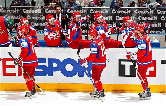 13.05.2010. ЧМ-2010. Россия - Белоруссия - 3:1. Фото 07.