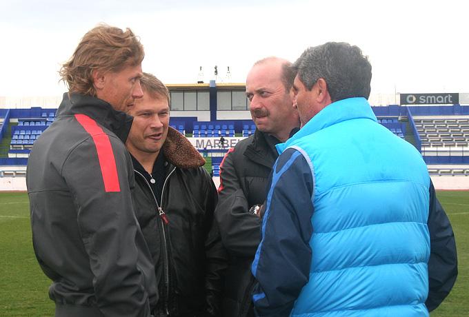 Валерий Карпин, Дмитрий Попов, Хуанде Рамос