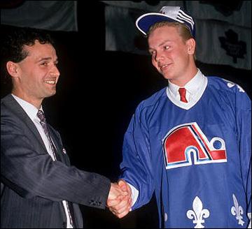 Драфт 1989 года. Матс Сундин — первый европеец, задрафтованный под номер 1