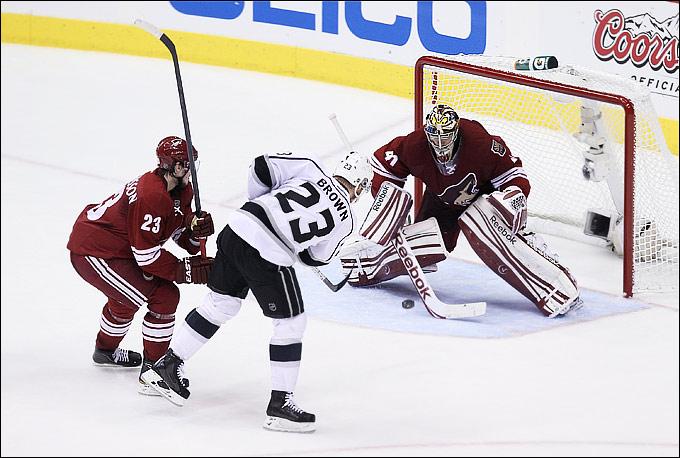 """14 мая 2012 года. Глендейл. Плей-офф НХЛ. Финал Западной конференции. """"Финикс Койотс"""" — """"Лос-Анджелес Кингз"""" — 2:4"""