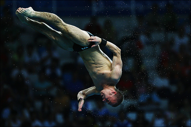 Двукратный бронзовый призёр Олимпийских игр в прыжках в воду Глеб Гальперин