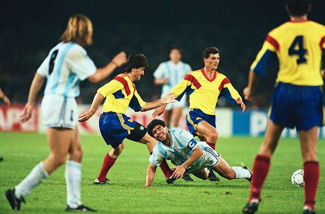 ЧМ-1990. Аргентина – Румыния – 1:1