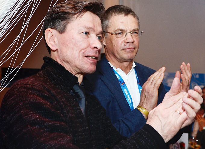 Вячеслав Быков и Александр Медведев