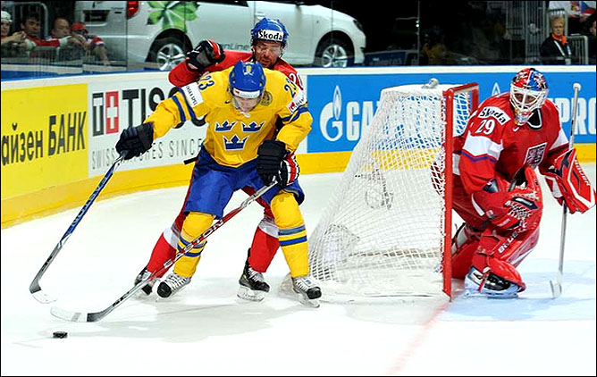 13.05.2010. ЧМ-2010. Швеция - Чехия - 1:2. Фото 01.