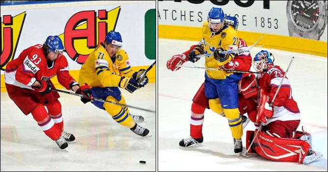 13.05.2010. ЧМ-2010. Швеция - Чехия - 1:2. Фото 02.