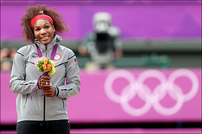 Серена Уильямс завоевала золото Олимпиады в одиночном разряде