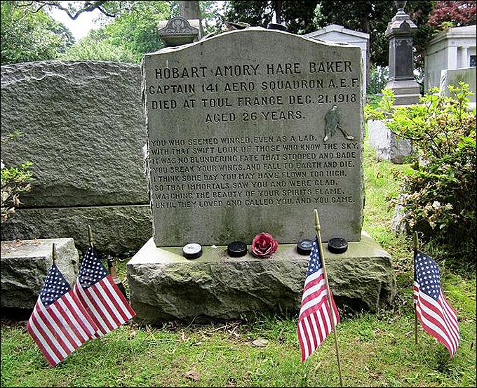 Могила Хоби Бейкера в Бале Синвиде, Пенсильвания