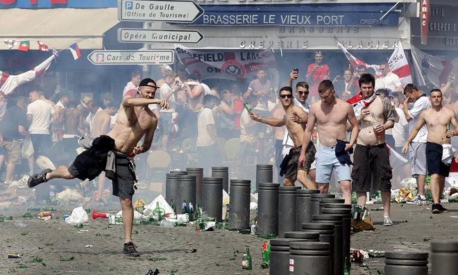 Беспорядки в Марселе