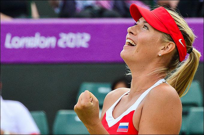 Мария Шарапова стала серебряным призёром Олимпиады