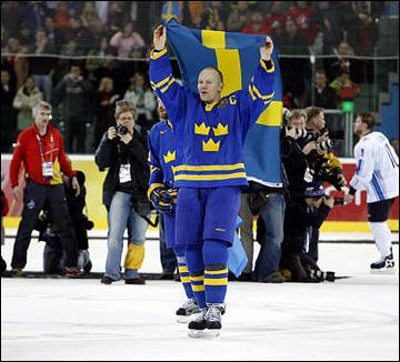 Матс Сундин — Олимпийский чемпион 2006 года