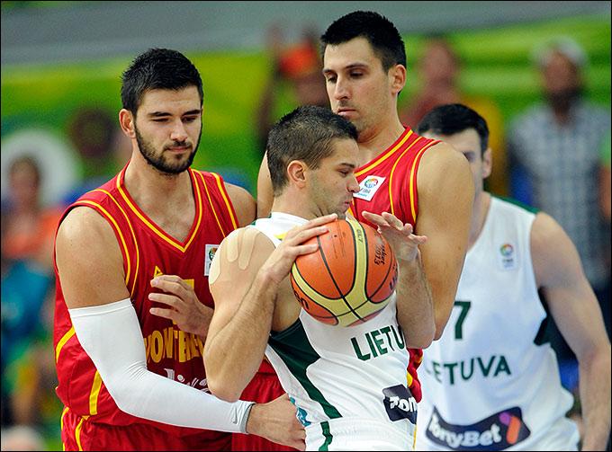 Евробаскет-2013. Литва — Черногория