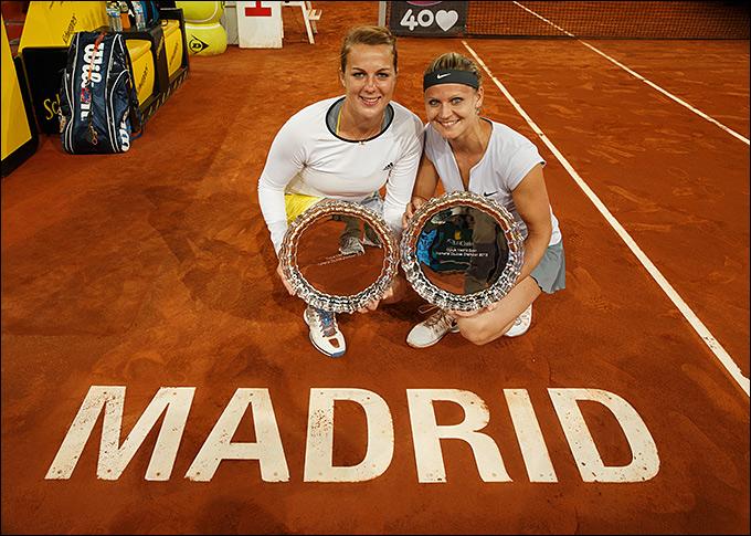 Анастасия Павлюченкова и Люси Шафаржова завоевали парный титул