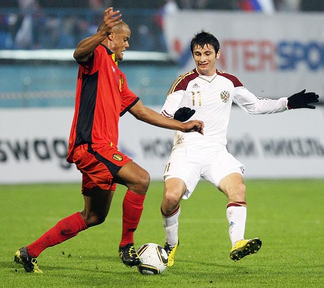 Россия – Бельгия – 0:2. Товарищеский матч. 2010 год