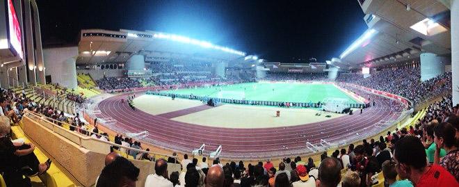 Трибуны стадиона «Луи II»