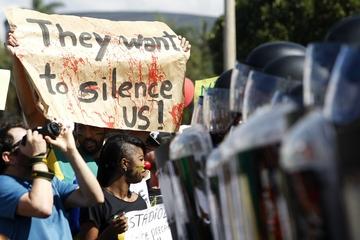 Массовые акции протеста в Бразилии