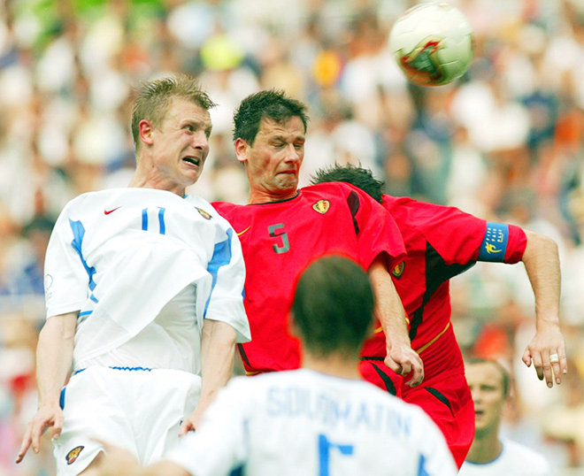 Бельгия – Россия – 3:2. Чемпионат мира. Групповой этап. 2002 год