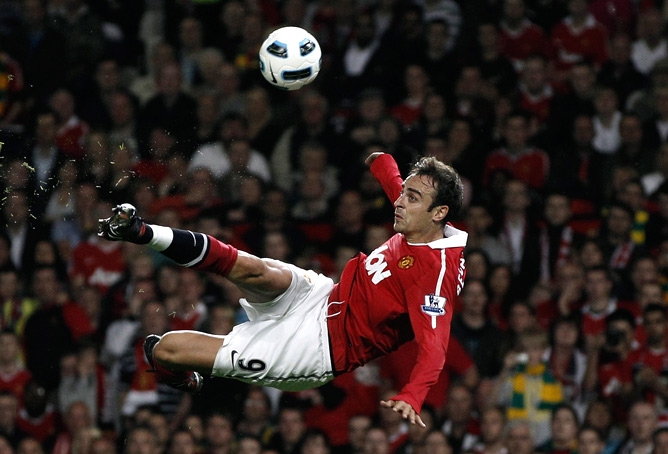 Berbatov in action!