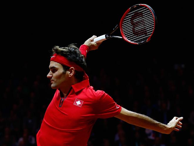 Монфис на кураже гораздо сильнее травмированного Федерера