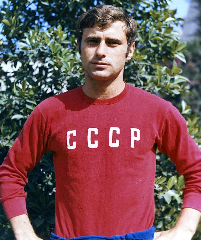 Анатолий Бышовец на чемпионате мира 1970 года