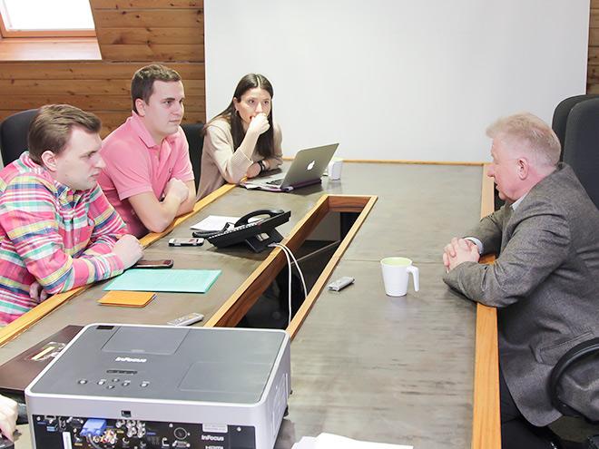 Владимир Мышкин в гостях у «Чемпионата»
