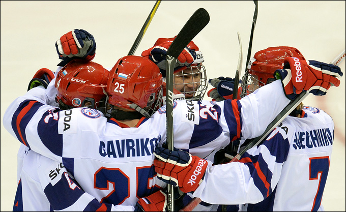 22 апреля 2013 года. Сочи. Юниорский чемпионат мира. Россия — Латвия — 10:2. Три матча — три победы