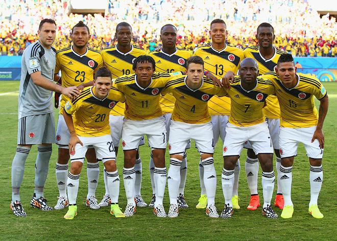Полурезервный состав сборной Колумбии