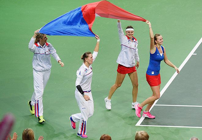 Сборная Чехии завоевала третий Кубок за четыре года